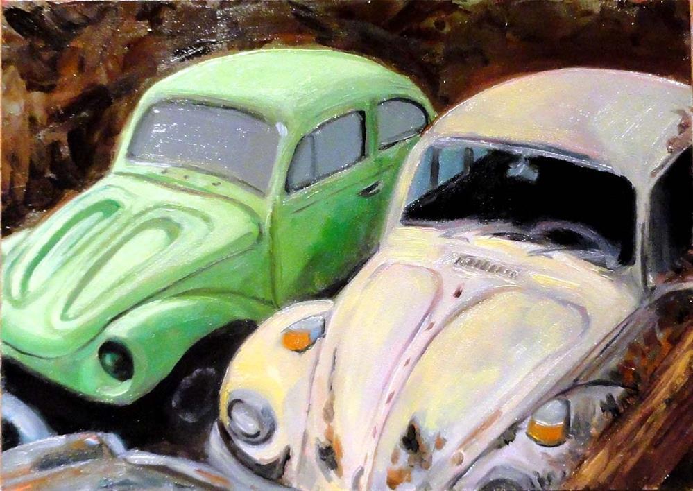 """Dead Bugs"" original fine art by Cietha Wilson"
