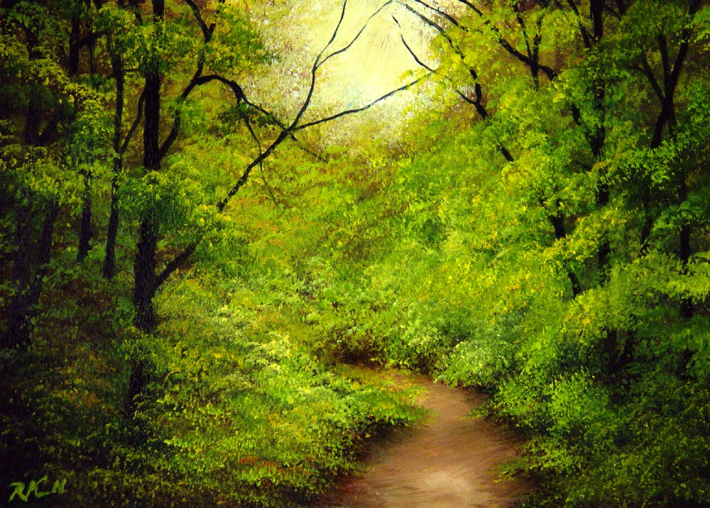 """""""The End of the Trail"""" original fine art by Bob Kimball"""