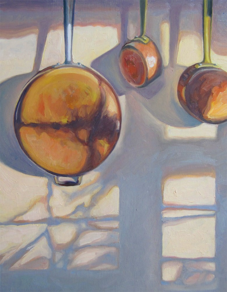 """Pots and Pans"" original fine art by Kath Reilly"