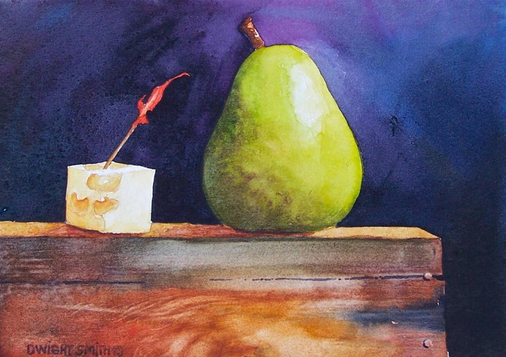 """ PINOT GRIGIO ? "" original fine art by Dwight Smith"