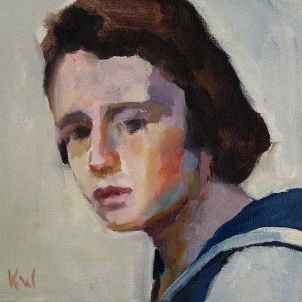 """Small Series #39"" original fine art by Katie Wilson"