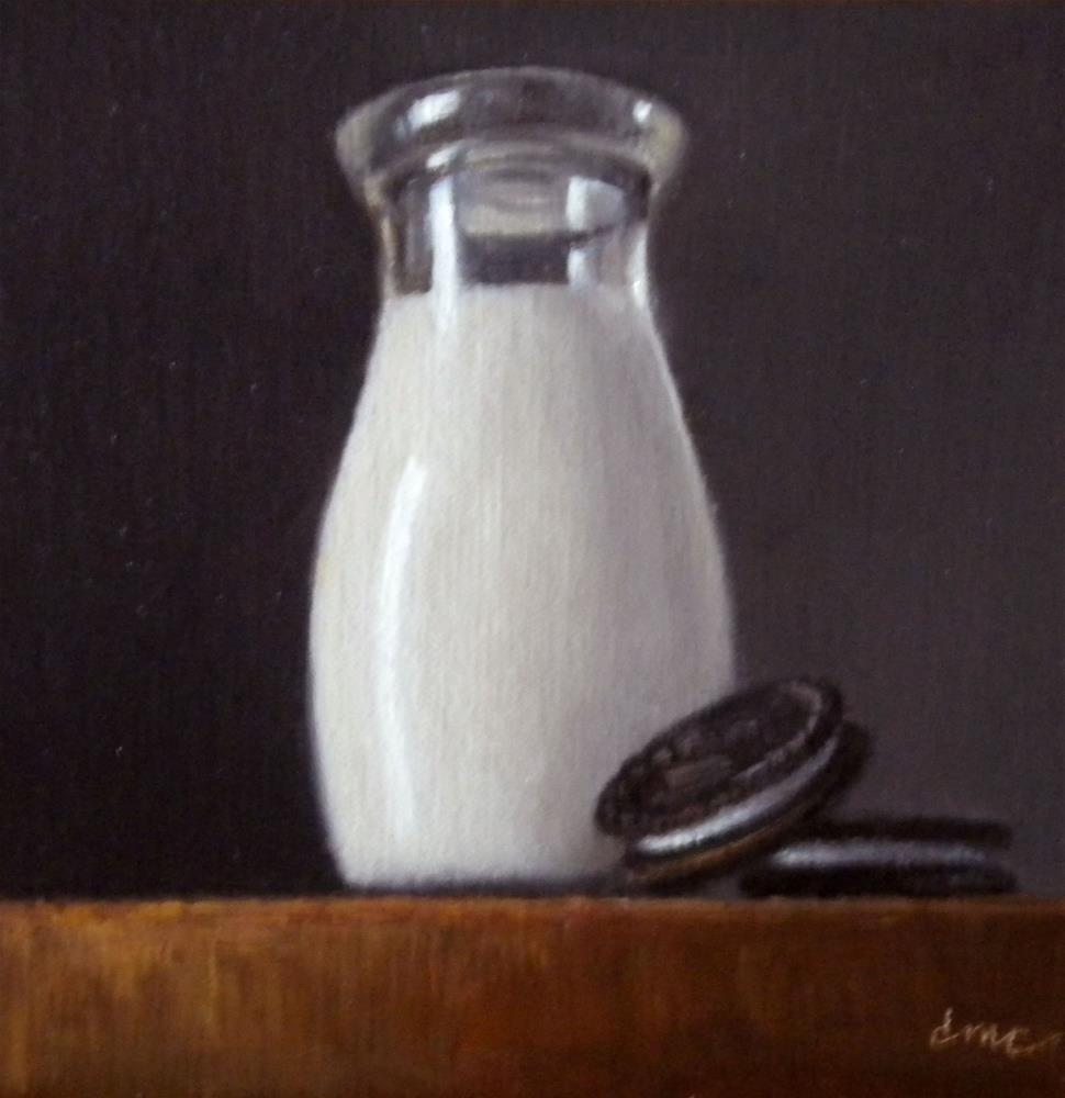 """Cookies and Creme"" original fine art by Darla McDowell"