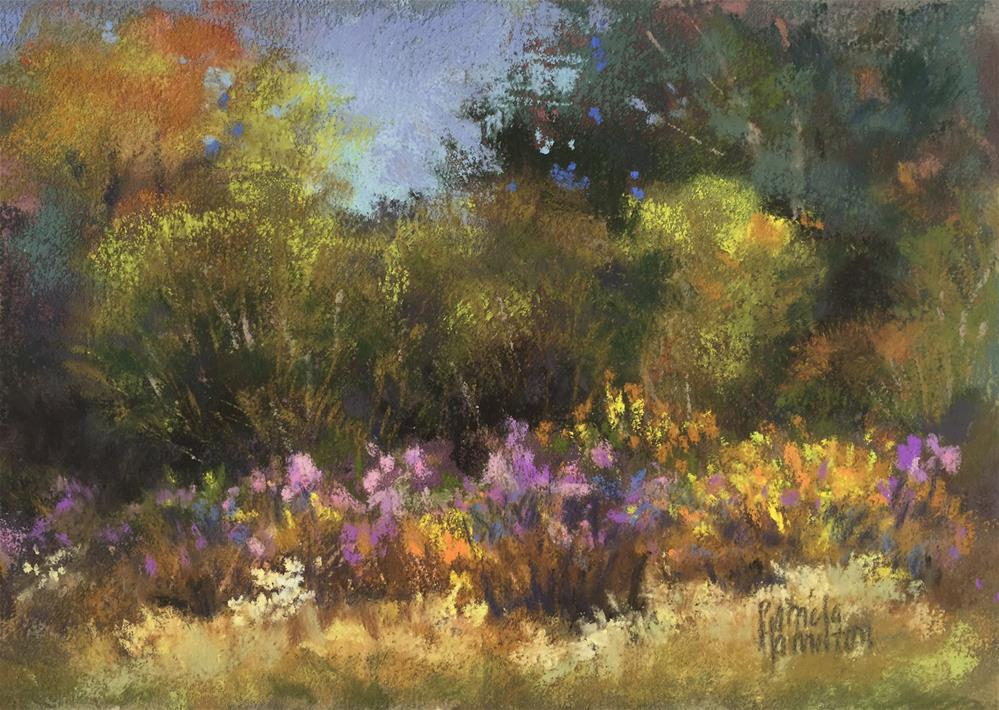 """Fall Flora"" original fine art by Pamela Hamilton"