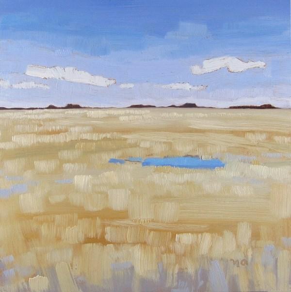 """Blue"" original fine art by Nicki Ault"
