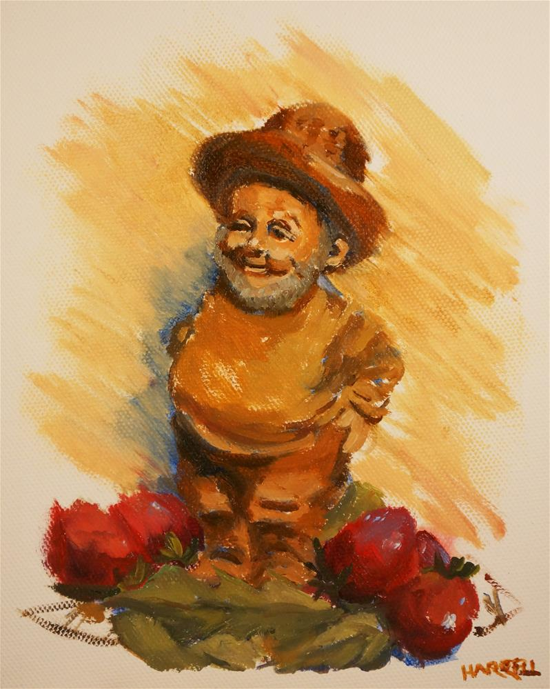 """Shorty"" original fine art by Sue Harrell"