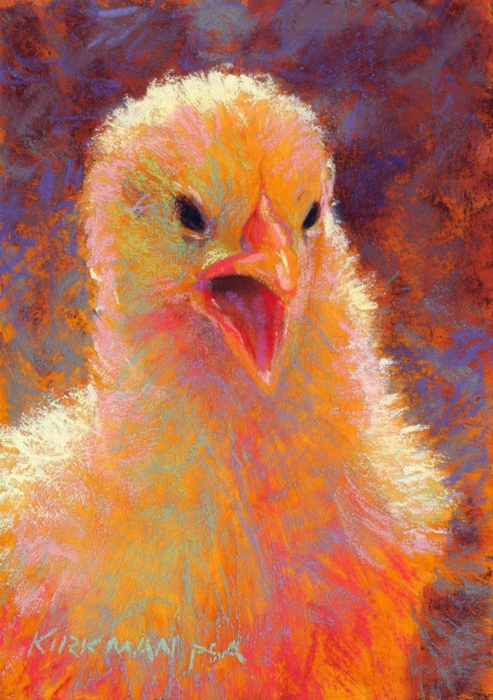 """Cheeper"" original fine art by Rita Kirkman"