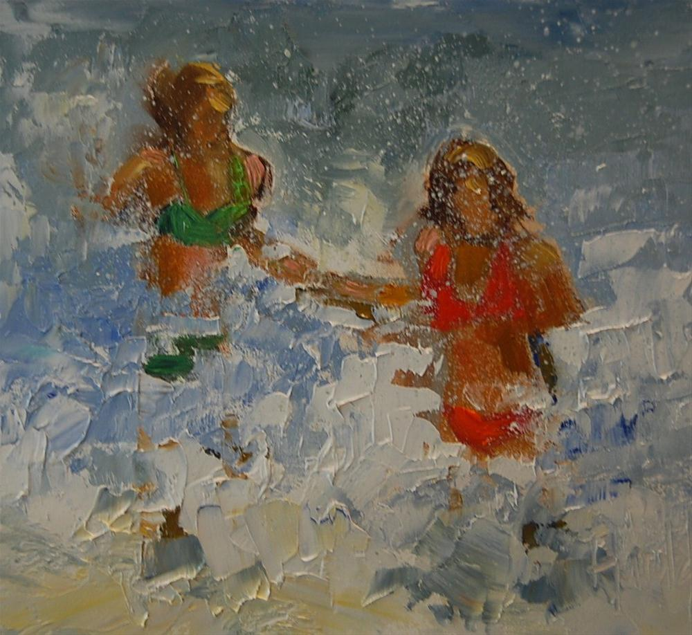 """Water Women"" original fine art by Deborah Harold"