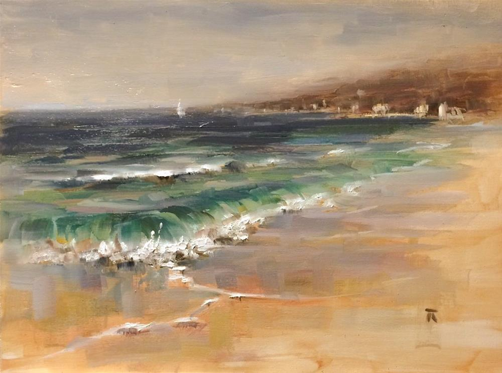 """Belongings of the Sea"" original fine art by Thomas Ruckstuhl"
