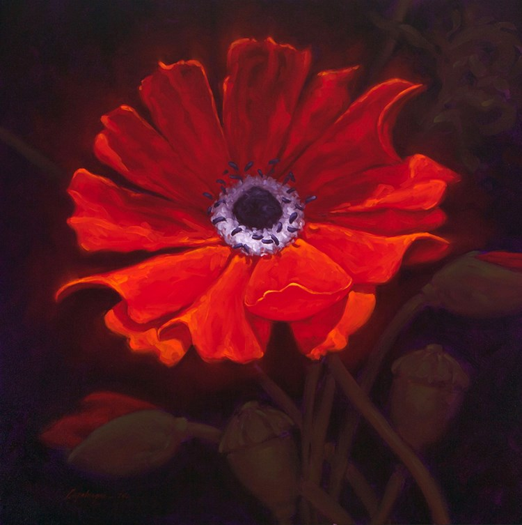 """In Bloom"" original fine art by David Capalungan"