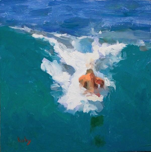 """The Wahine"" original fine art by Randall Cogburn"