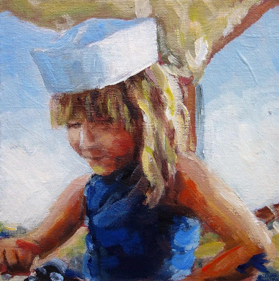 """Sailor"" original fine art by J. Farnsworth"