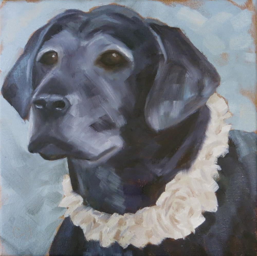 """Bella"" original fine art by Claire Henning"