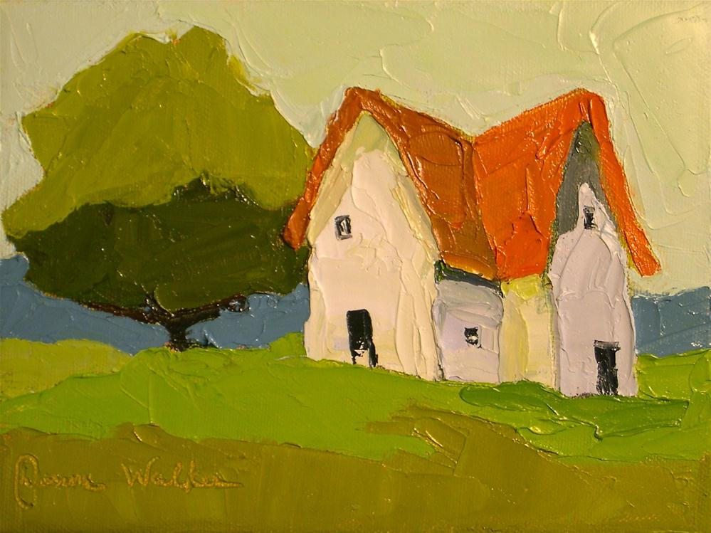 """Farmhouse Simplicity"" original fine art by Donna Walker"