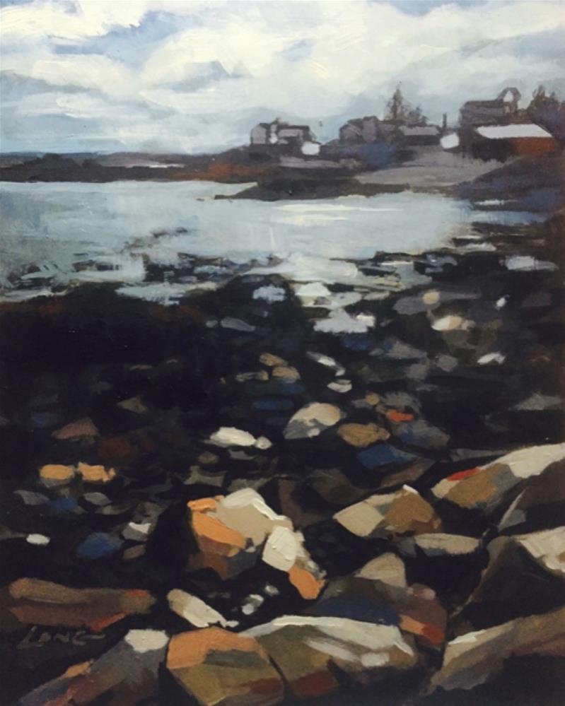 """""""Maine"""" original fine art by Chris Long"""