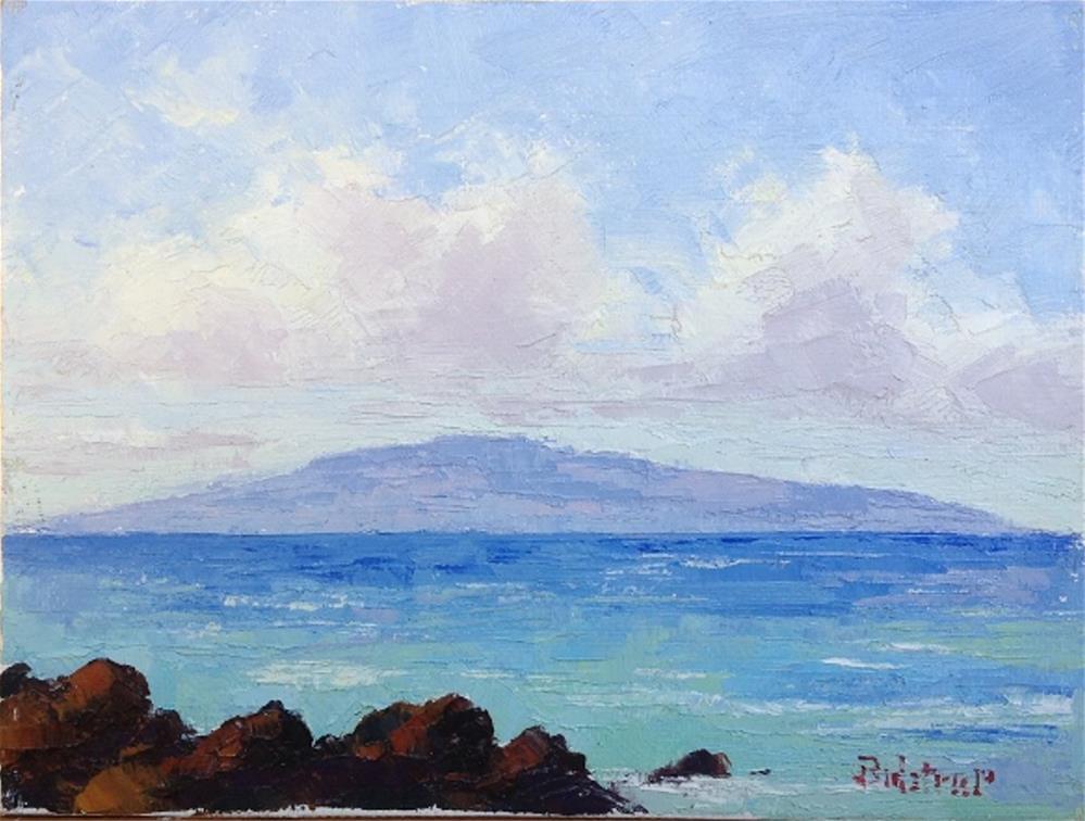 """""""Lanai Morning View"""" original fine art by Mark Bidstrup"""