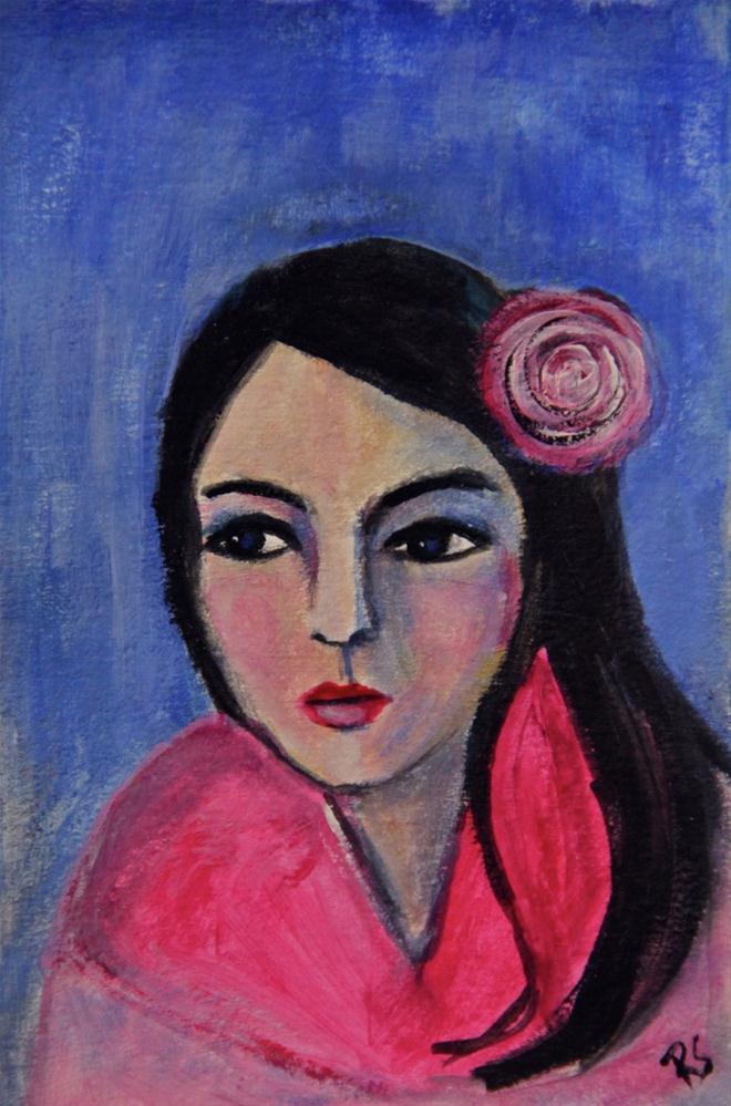 """Emily"" original fine art by Roberta Schmidt"