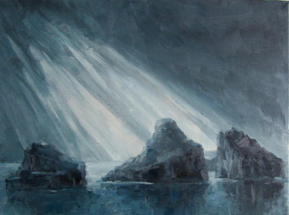 """""""The paint your muse challenge"""" original fine art by Steinunn Einarsdottir"""