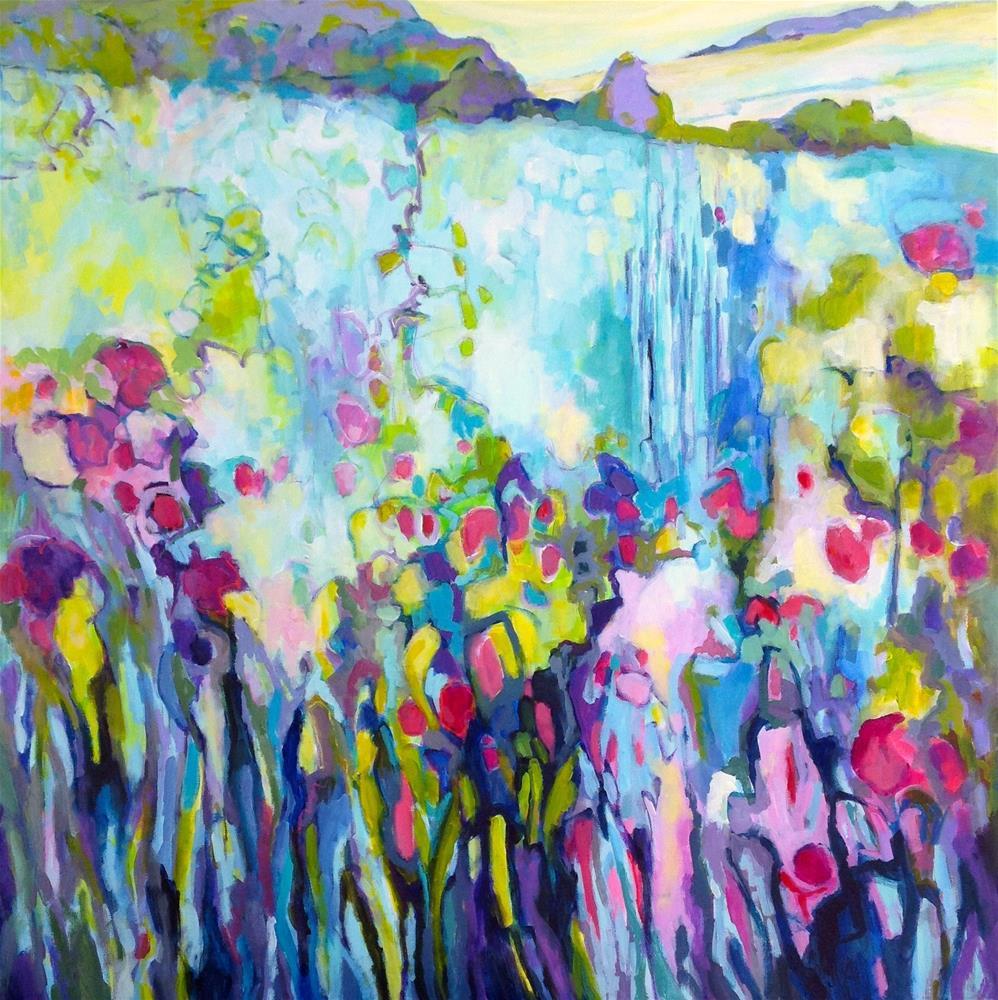 """One Fine Day"" original fine art by Patricia MacDonald"