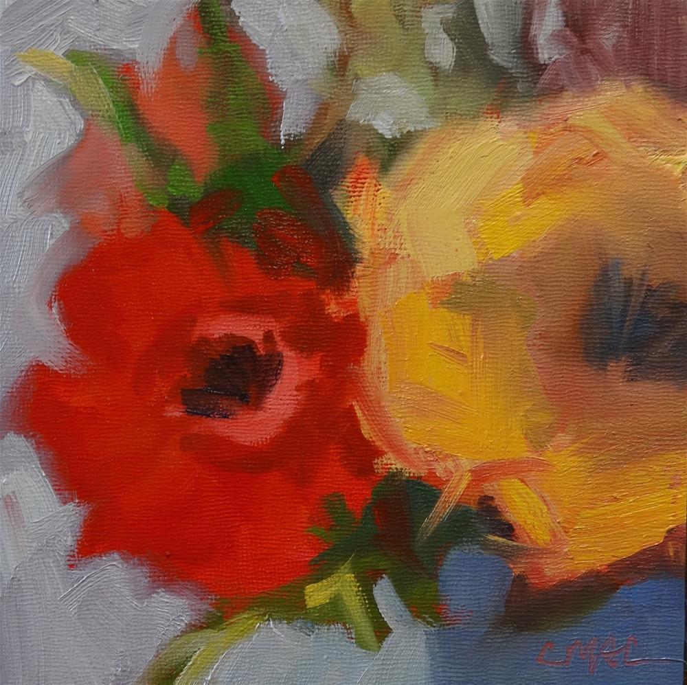 """Juxtaposed"" original fine art by Carolyn McDonald"