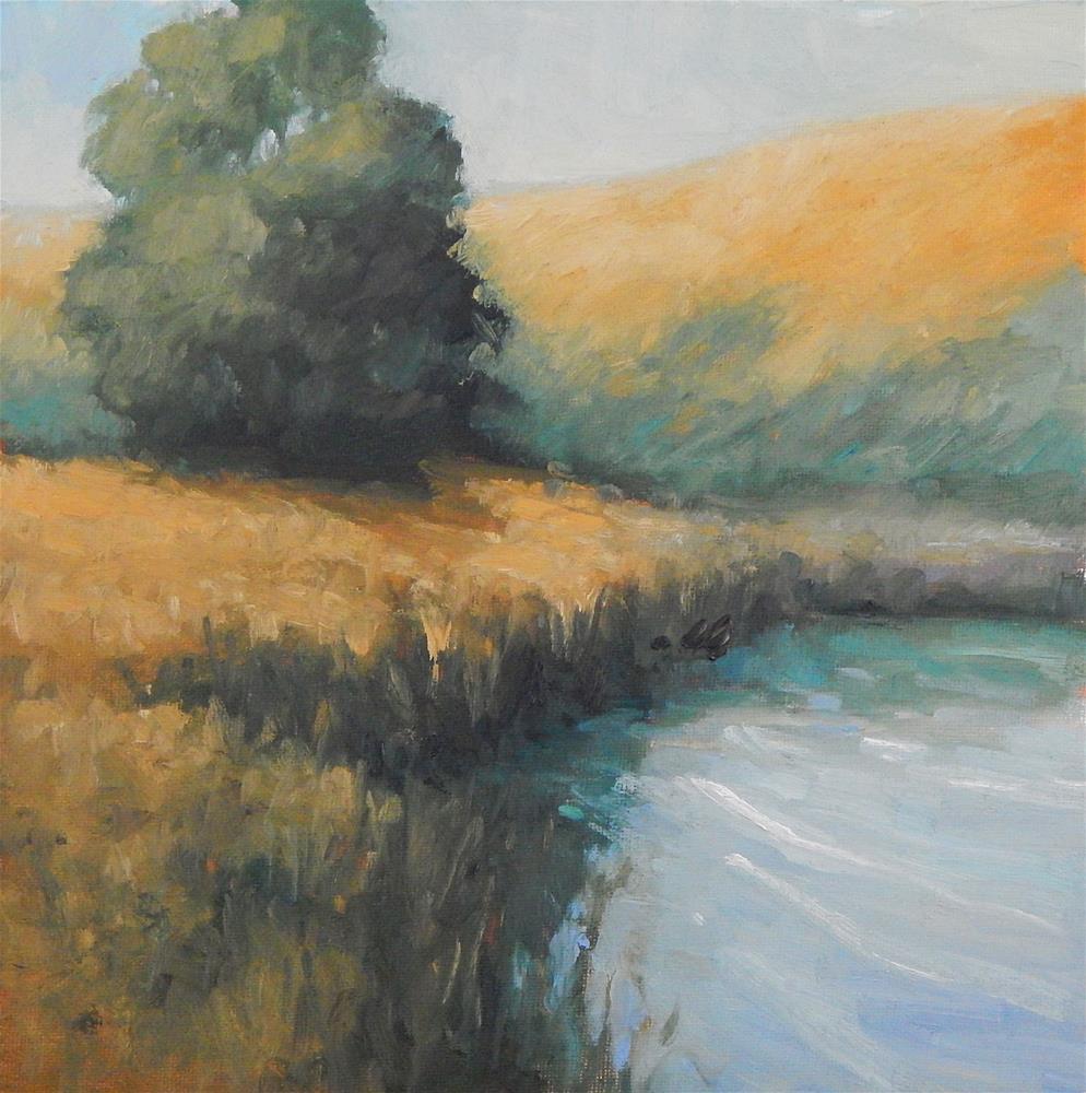 """At the Marsh Edge"" original fine art by Lisa Kyle"