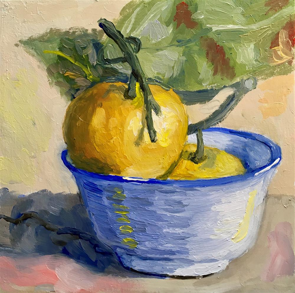 """148 Clementine Party"" original fine art by Fred Bell"