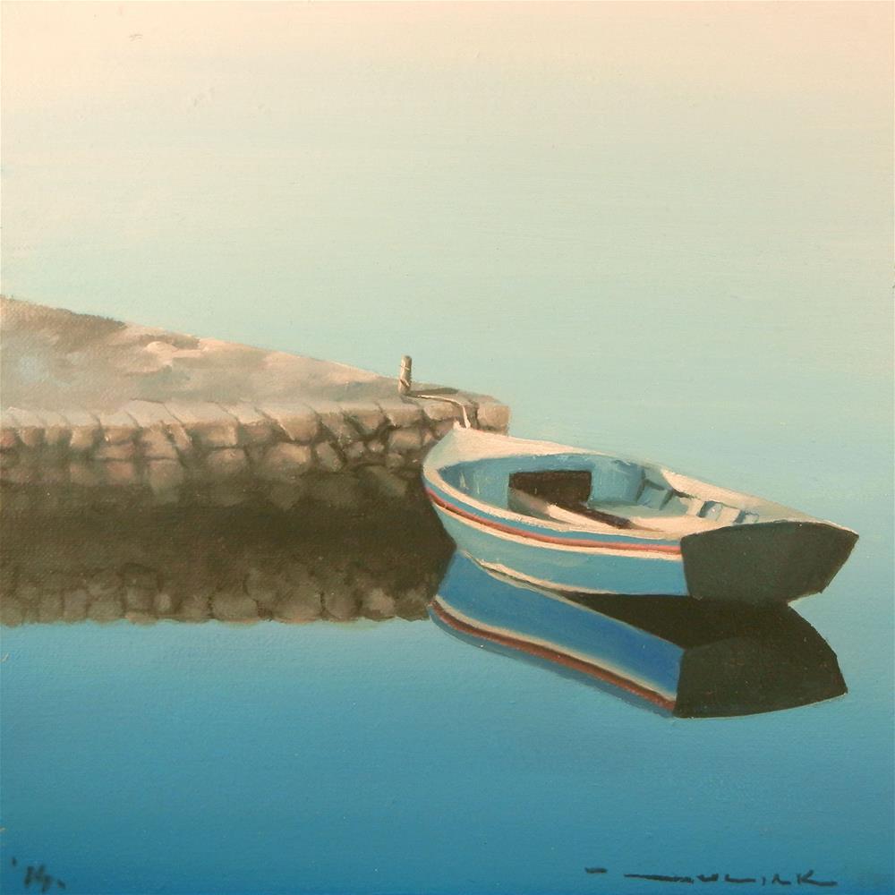 """In the dawn"" original fine art by Dragan Culjak"