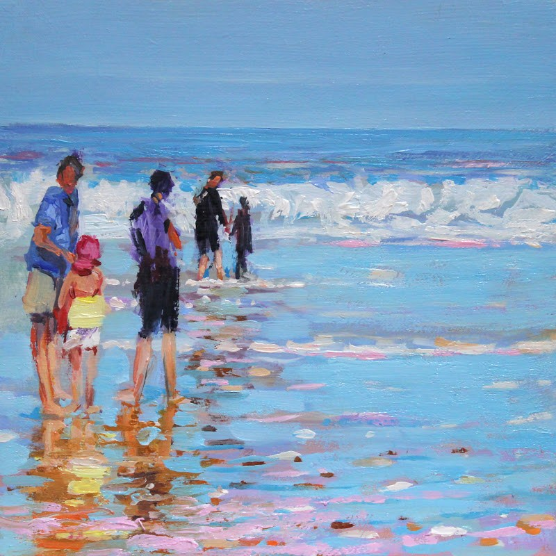 """Families"" original fine art by Ken Devine"