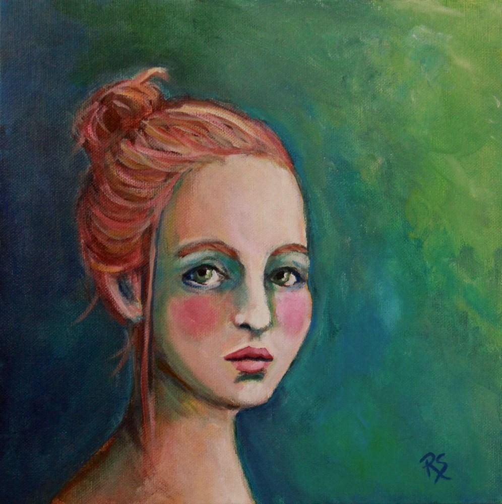 """Mia"" original fine art by Roberta Schmidt"