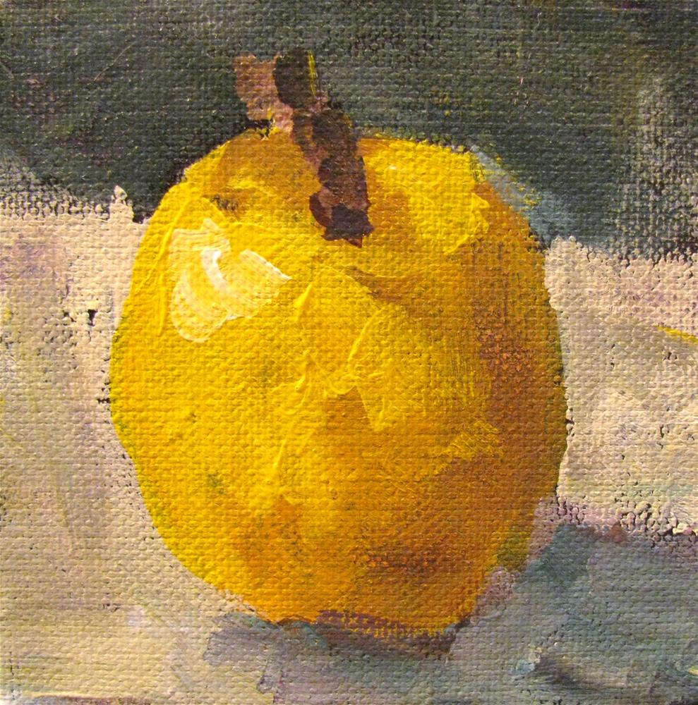 """Apple a Day"" original fine art by Susan Elizabeth Jones"