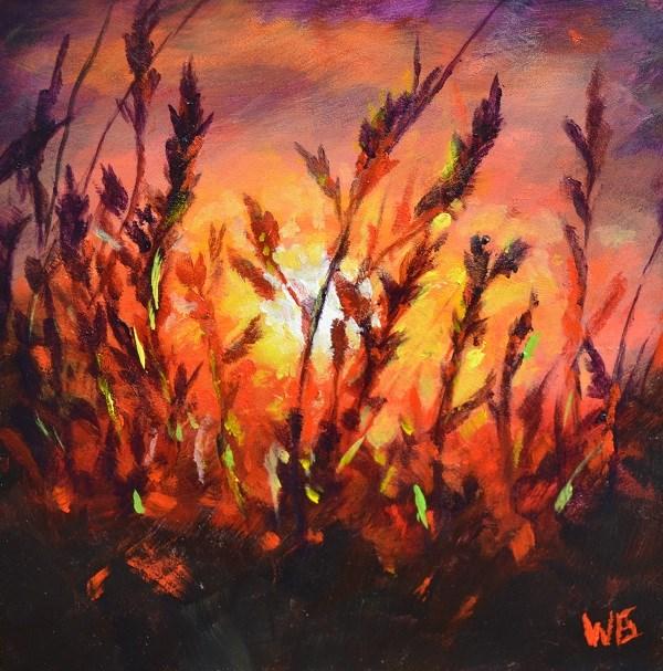 """""""golden wheat"""" original fine art by wendy black"""