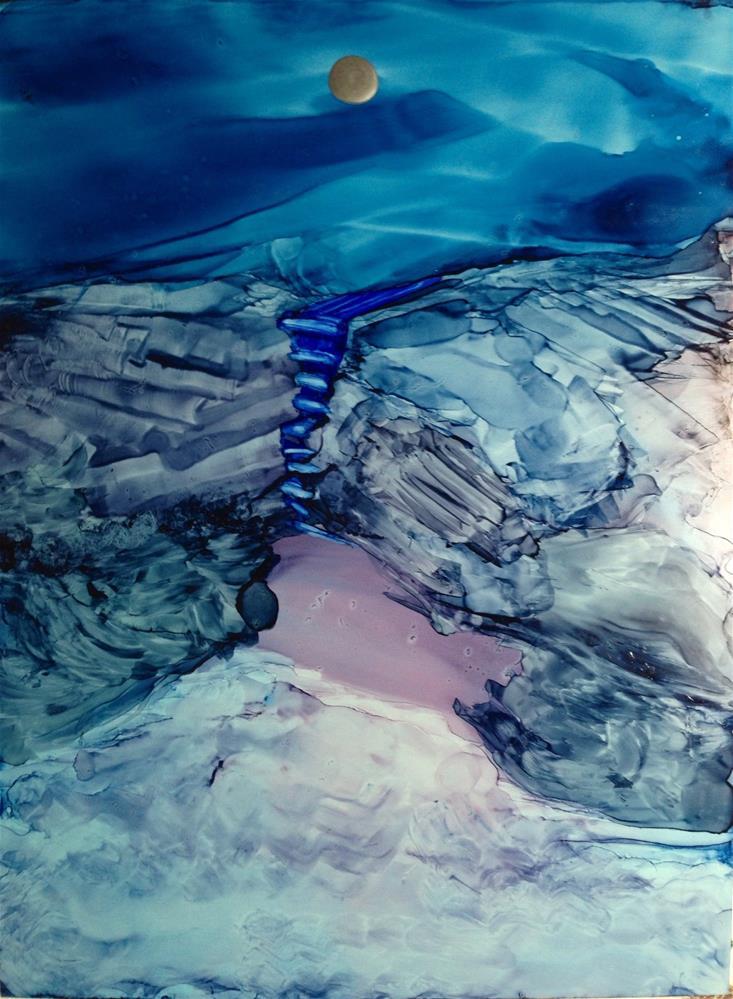 """Thunder Hole"" original fine art by Korinne Carpino"