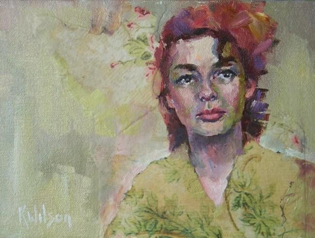 """Geisha Like"" original fine art by Katie Wilson"