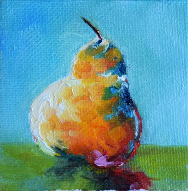 """""""Pear"""" original fine art by Stefan Peters"""