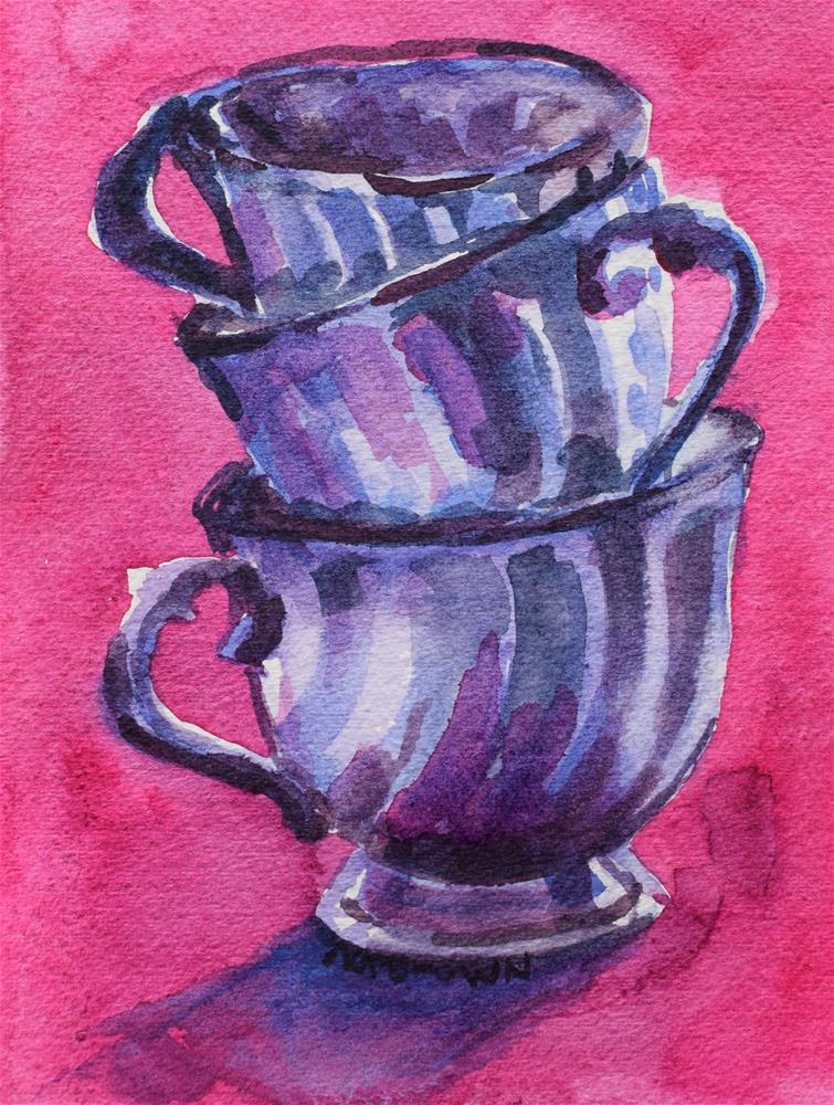 """""""3 Sisters"""" original fine art by Nancy Brown"""
