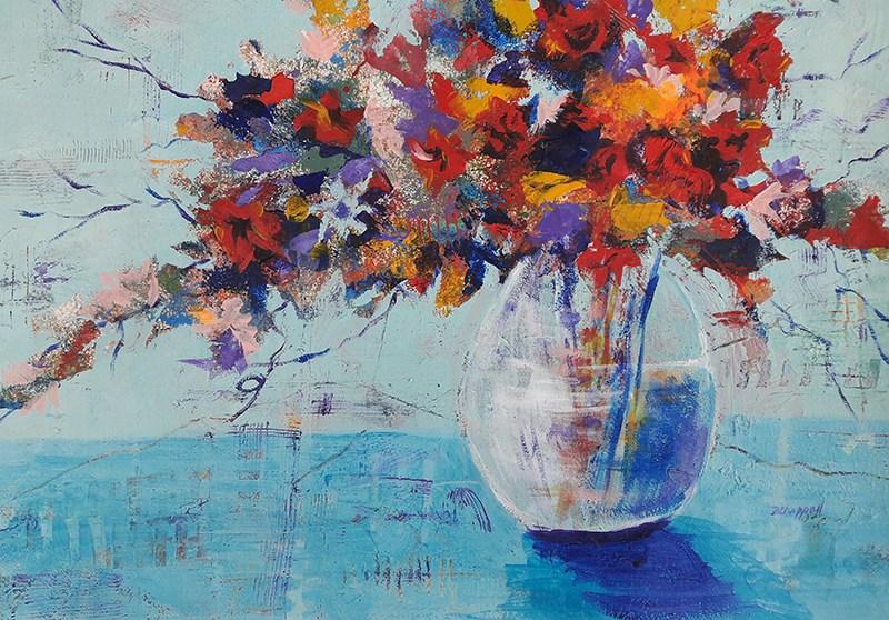 """""""A Cool Spot"""" original fine art by Becky Chappell"""