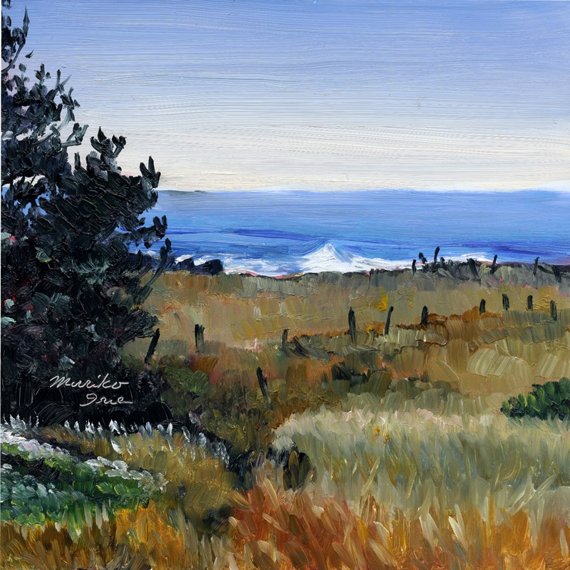 """To Ocean at Spring Ranch"" original fine art by Mariko Irie"
