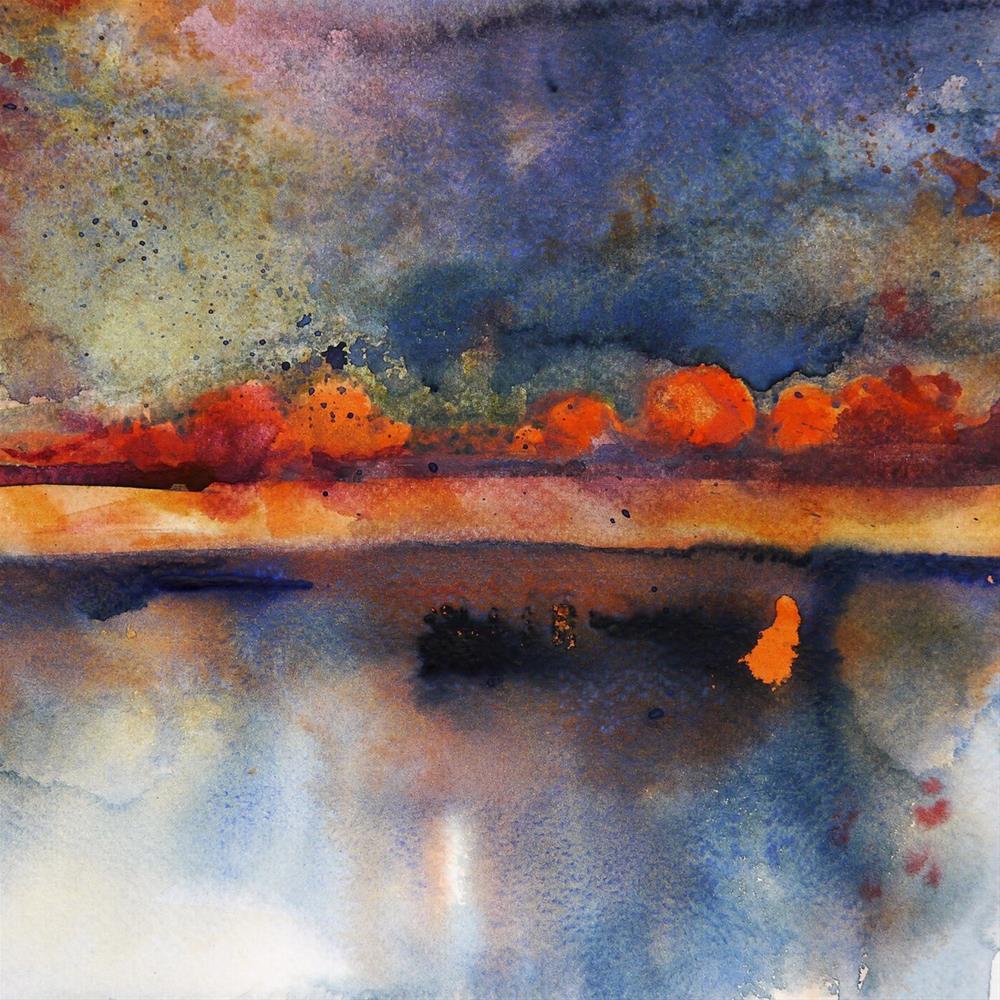 """rusty_landscape1"" original fine art by Beata Musial-Tomaszewska"