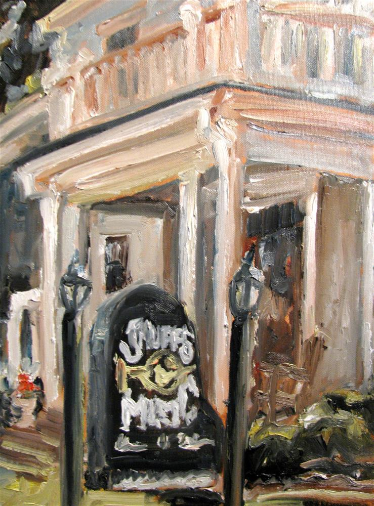 """Shuff's Music"" original fine art by Susan Elizabeth Jones"