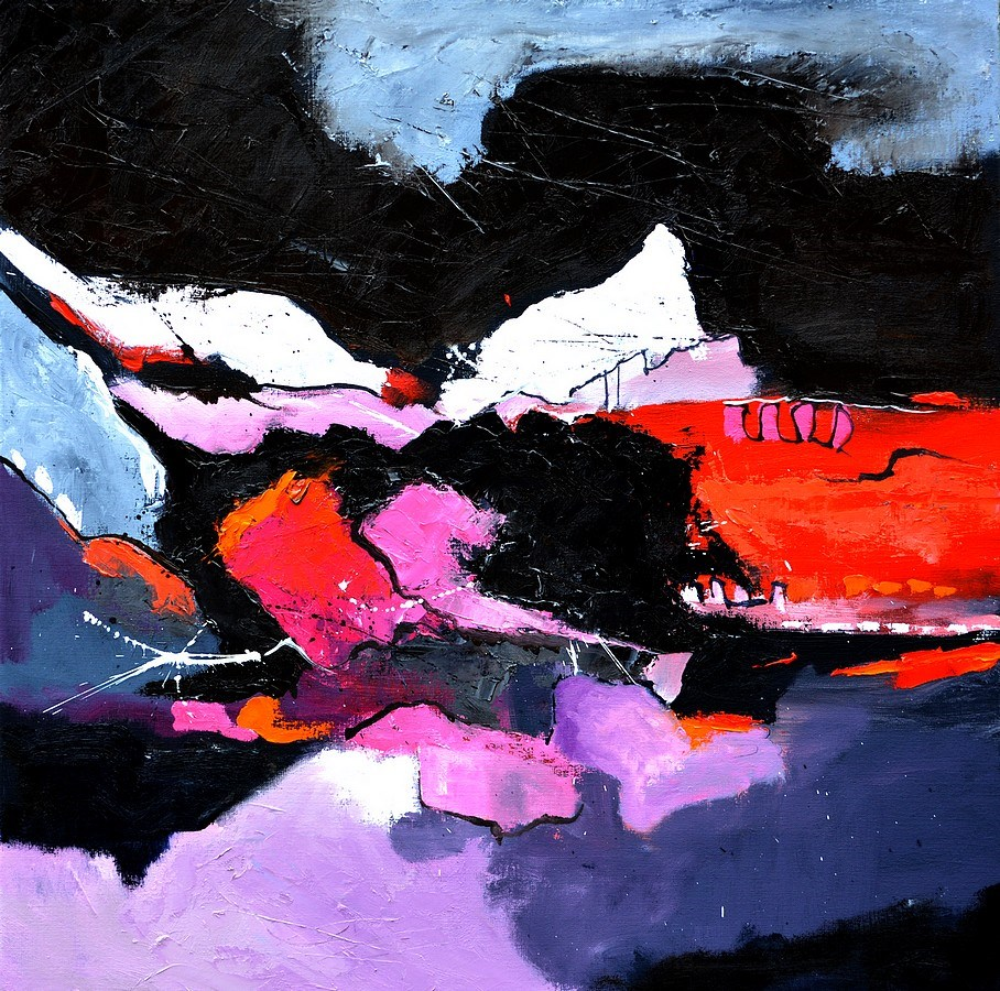 """abstract 7751202"" original fine art by Pol Ledent"