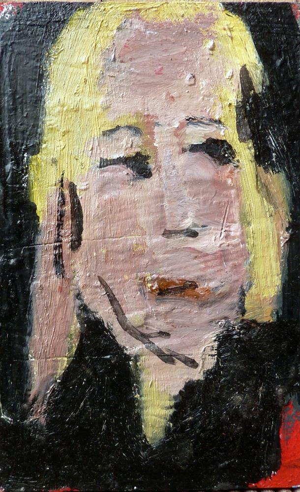 """GIRL - Portrait 4"" original fine art by Mila Plaickner"