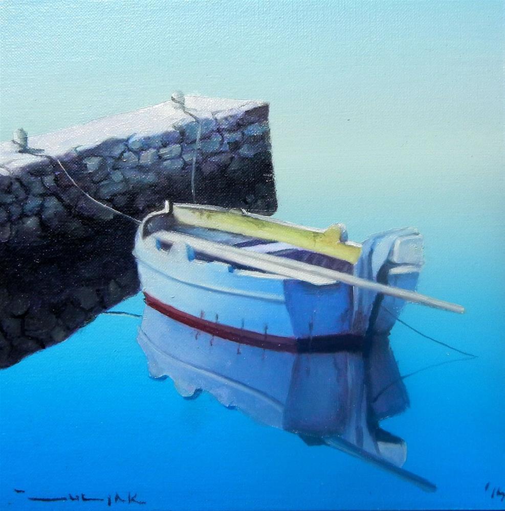 """""""Calm sea"""" original fine art by Dragan Culjak"""