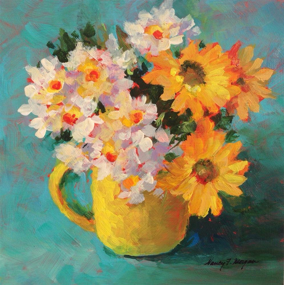 """""""Simple Pleasures"""" original fine art by Nancy F. Morgan"""