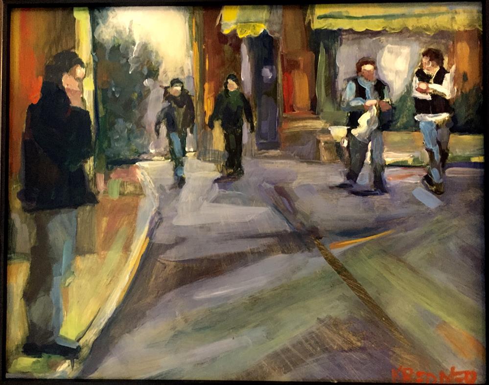"""Calle Arenal"" original fine art by Kathleen Redmer"