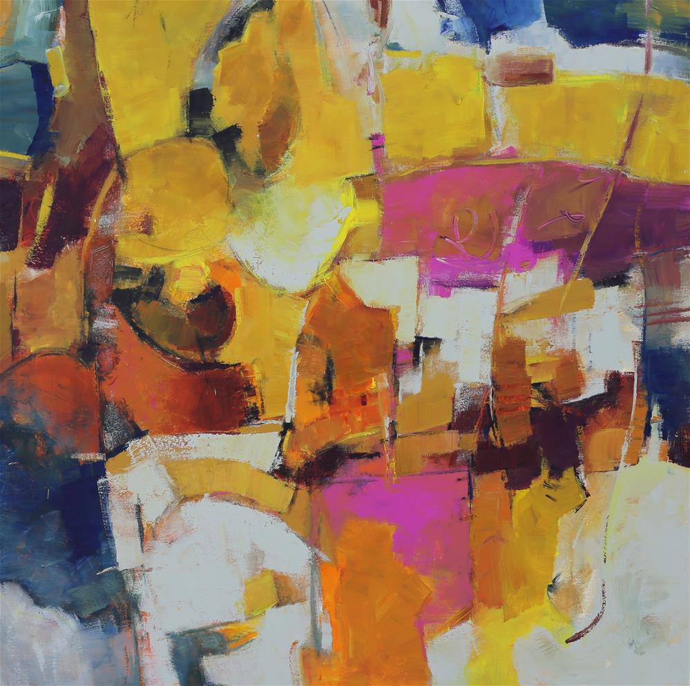 """Clarion"" original fine art by Elizabeth Chapman"
