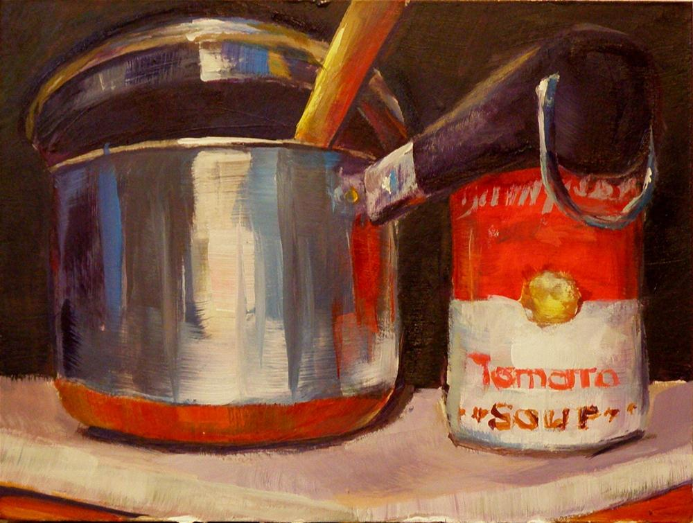 """OPEN A CAN"" original fine art by Brian Cameron"