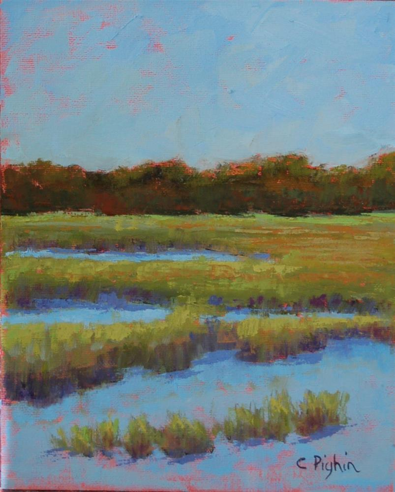 """Serenity"" original fine art by Carol Pighin"