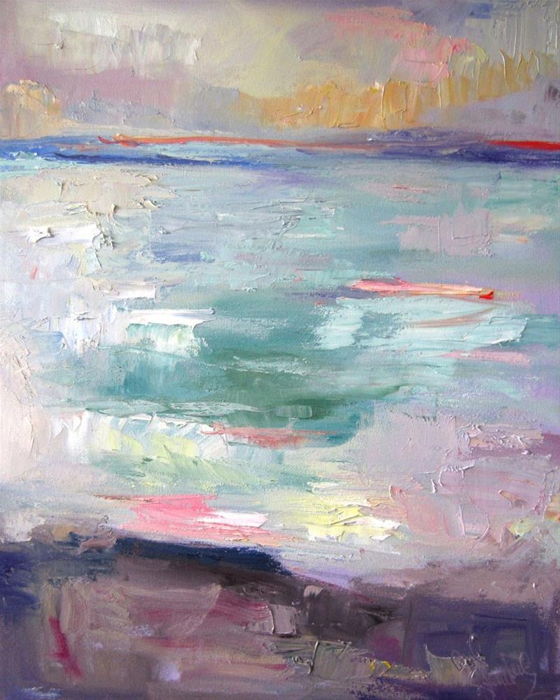 """Cabrillo Twilight Two"" original fine art by Carol Steinberg"