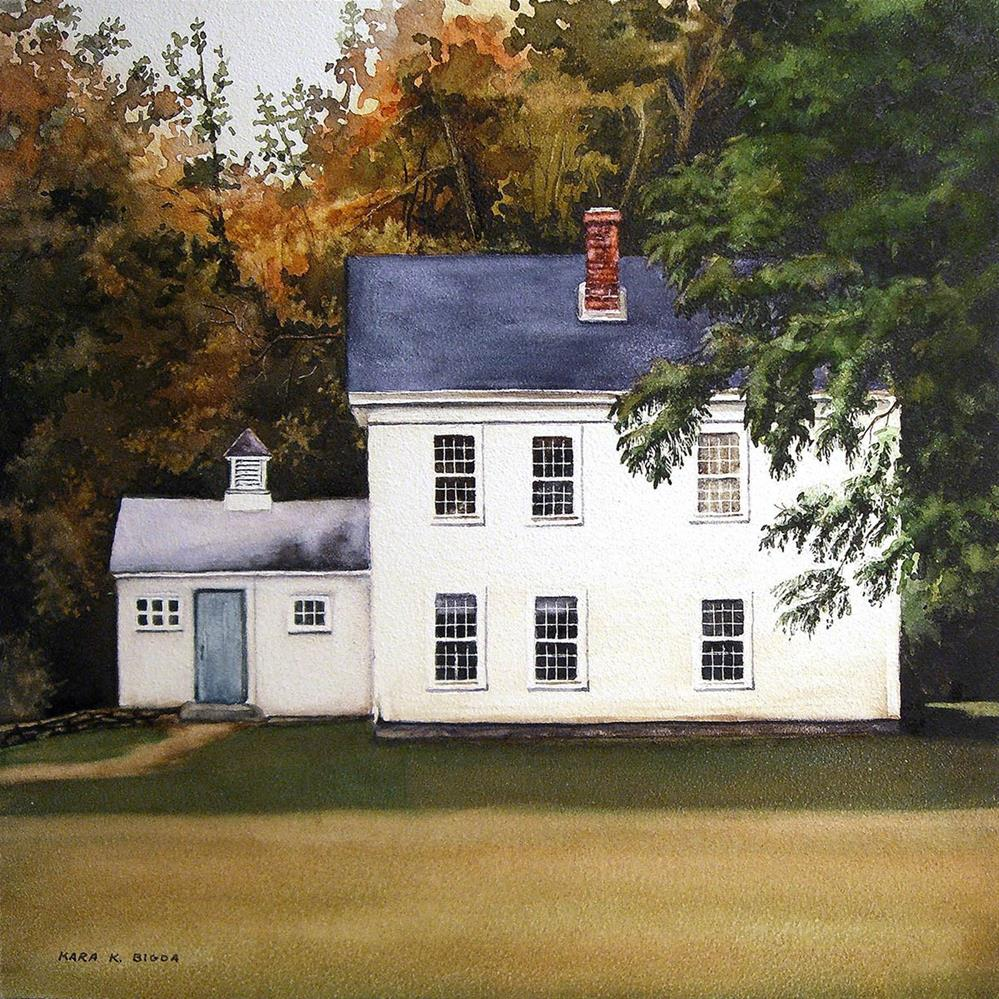 """Homestead"" original fine art by Kara K. Bigda"