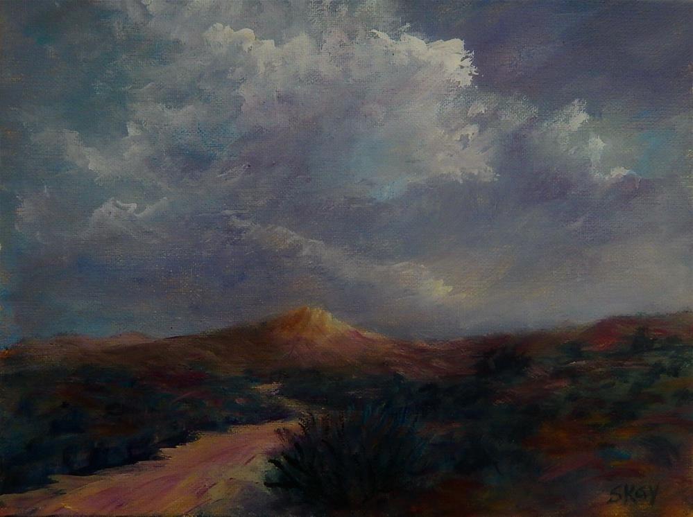 """Move Toward the Light"" original fine art by Sharon Kay Baker"