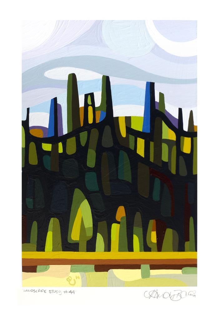 """Landscape Study #44"" original fine art by Mandy Budan"